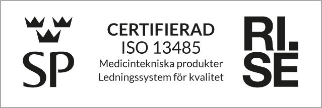 Certifierad ISO 13485